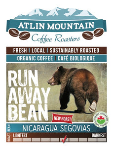 Runaway Organic Coffee Beans - Ground - 400 grams