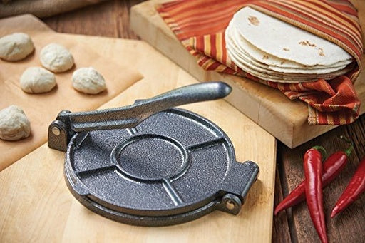 Fox Run Cast Iron Tortilla Press, 7.25
