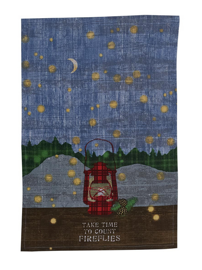 Park Designs Dishtowel, Time to Count Fireflies