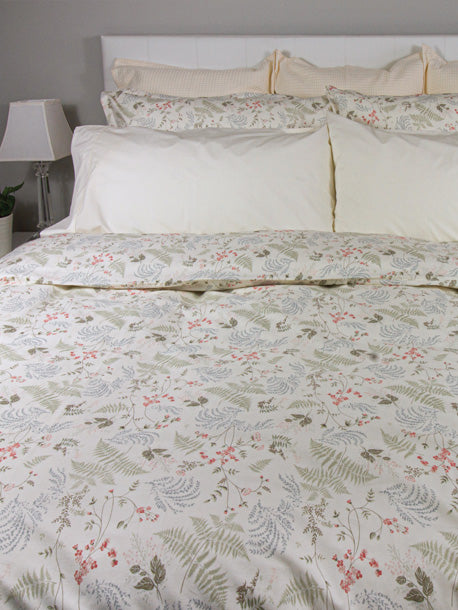 Flores Duvet Cover Set, Queen