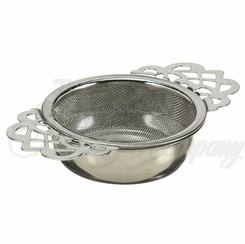 Empress Tea Room Strainer/Filter w/Base Holder