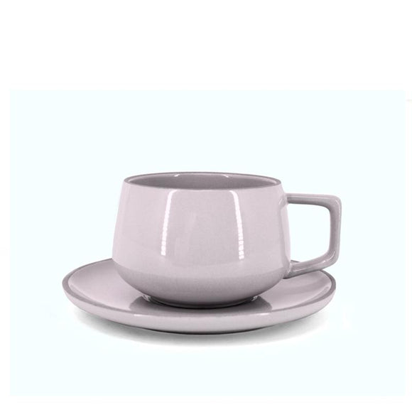 BIA Cup & Saucer, Lavender 300ml