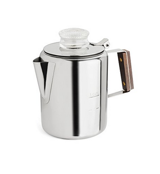 Tops Rapid Brew Percolator, 3 Cup