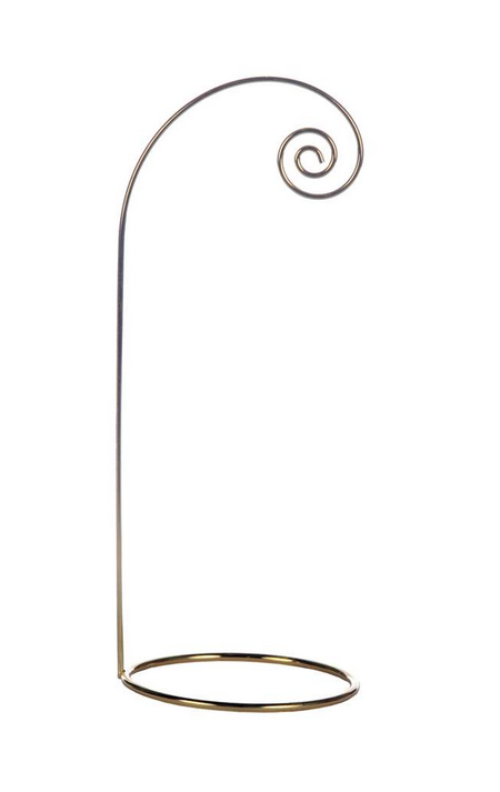 Gold Ornament Stand, 10.4