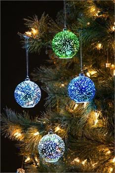 Stargazing Infinite Dimensions Starburst LED Ornament, Asst'd Colours