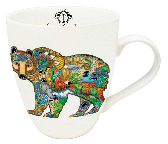 Indigenous Collection Mug, Grizzly Bear