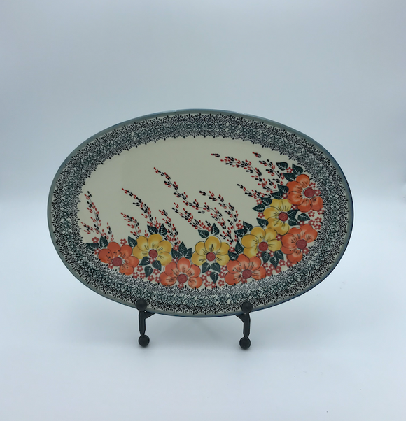 Large Oval Server, 14x10