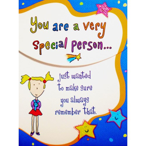 PPAD/You Are A Very Special Person