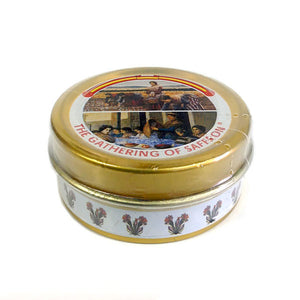 "Saffron Whole Pure Spanish ""La Mancha"" , 1g Tin"