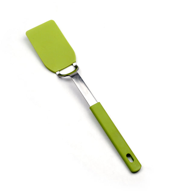 RSVP Flexible Nylon Spatula, Small Green