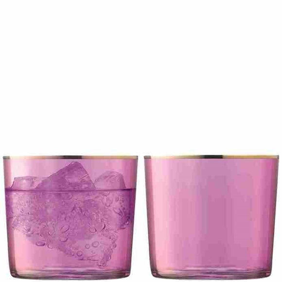 LSA Sorbet Tumblers, Raspberry Set of 2 10.5oz
