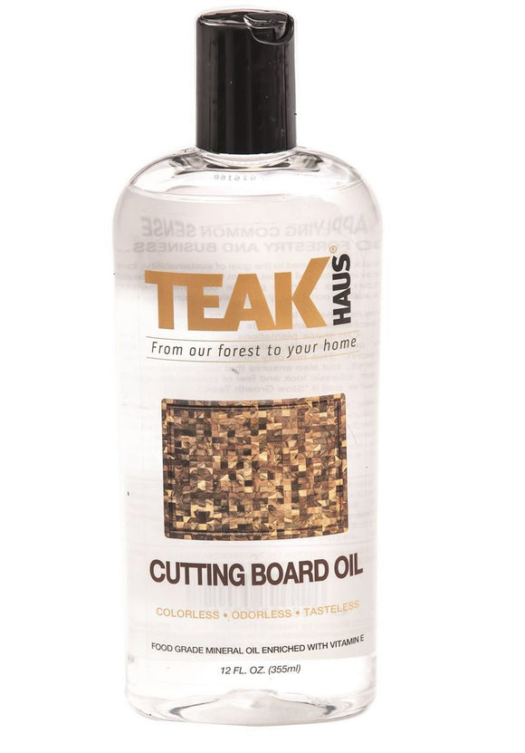 Teak Cutting Board Oil, 12oz
