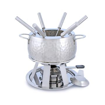 Bienne Meat Fondue Set, 11 pc, Stainless Steel 2L