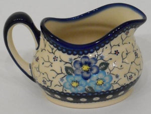 Gravy Boat, 500mL, Blue Flowers & Vines