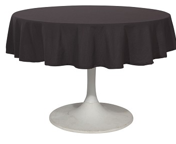Now Designs Renew Tablecloth, Black 60