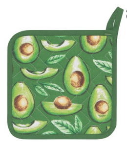 Potholder, Avocados