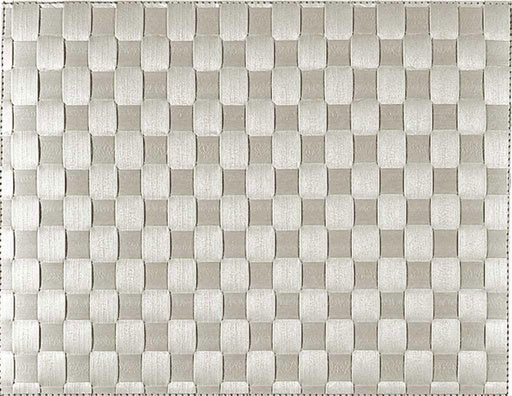 Woven Placemat, Light Grey 30x40cm