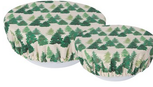 Bowl Cover, Woods Set of 2 Sizes