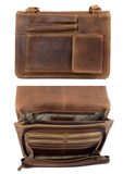 Rugged Earth Leather Purse, Style 199013