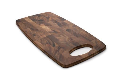 Calistoga End Grain Cheese Board, Acacia Wood 15x8x0.25
