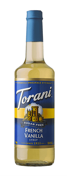 Torani, Sugar Free French Vanilla Syrup, 750ml