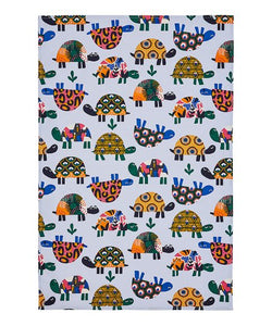 Ulster Weavers UK Cotton Tea Towel, Turtles