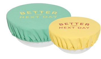 Bowl Cover, Better The Next Day Set of 2 Sizes