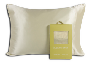 Fairmile Silk Pillowcase, Ivory - Queen / Standard