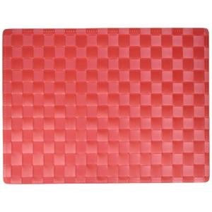 Woven Placemat, Ruby Red 30x40cm