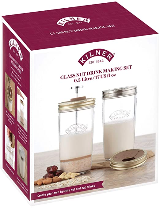 Kilner Nut Milk / Beverage Maker, 7pc