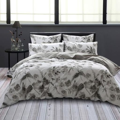 Floral Field Duvet Cover Set, Queen