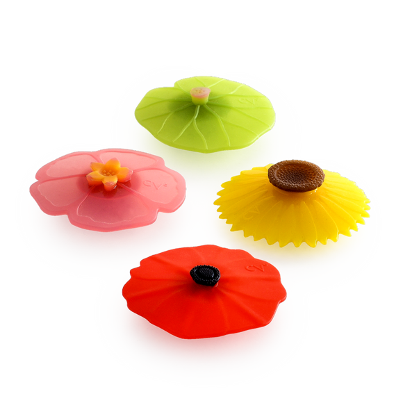 Floral Silicone Magnets, Assorted