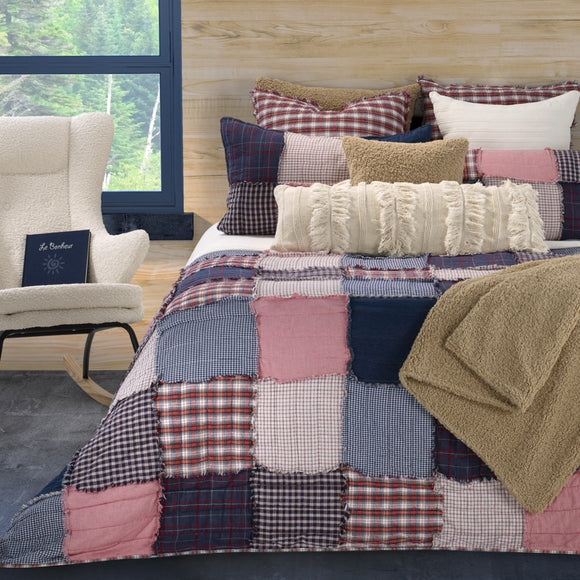 Brunelli Louis Quilt Set, Double/Queen 88x90