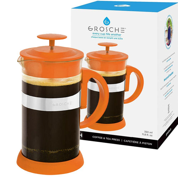 Zurich French Press, Orange 8 Cup