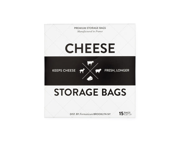 Cheese Storage Bags, 15 Pack, 6x11
