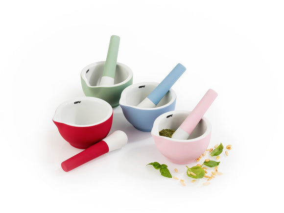 GEFU Mortar & Pestle Macino Porcelain, Asst'd Colours
