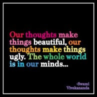 Quotable Card -  Our Thoughts Make Things, D313
