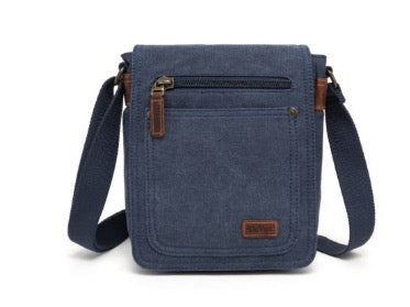 Small Shoulder Bag with 7 Pockets
