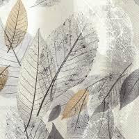Lunch Napkin - Fancy Fall, Grey