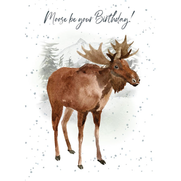 BD / Moose Be Birthday Card