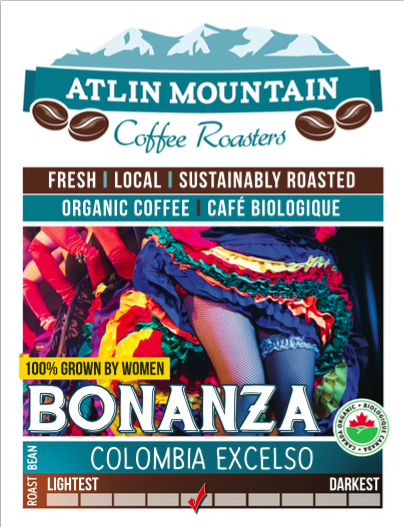 Bonanza Organic Coffee Beans - Whole - 400 grams
