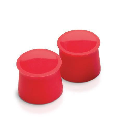 Silicone Wine Caps Set/2 - Candy Apple