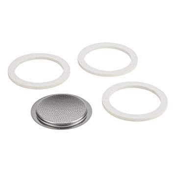 Bialetti Part - Gasket/Filter Plate, Stainless Steel 6 cup