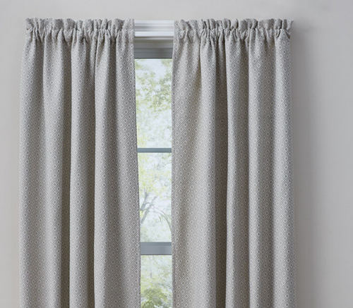 Park Designs Diamond Jacquard Lined Curtains, Pair - 72x63L