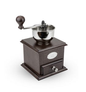 "Brésil Coffee Mill, Walnut Stained Beechwood 8""/21cm"