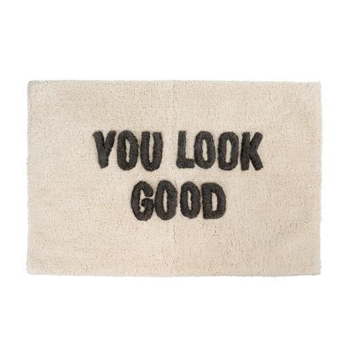 You Look Good Bath Mat, 20x30