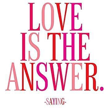 Quotable Magnet - Love Is The Answer, MD292