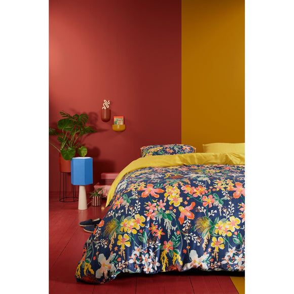 Brunelli Tropical Wall Duvet Cover Set, Double/Queen  88x90