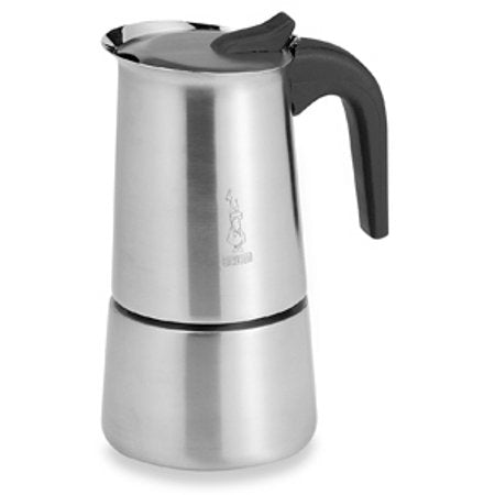 Musa Espresso Maker, Stainless Steel 4 Cup