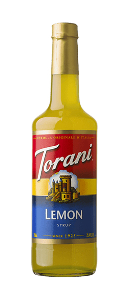 Torani, Lemon Syrup, 750ml